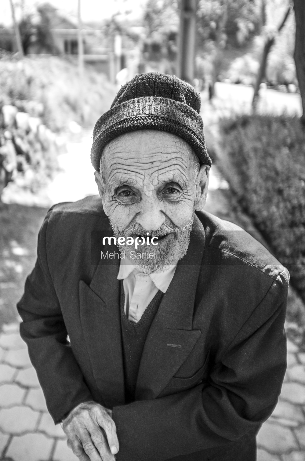 Man Wearing A Hat Stock Photo · Meapic