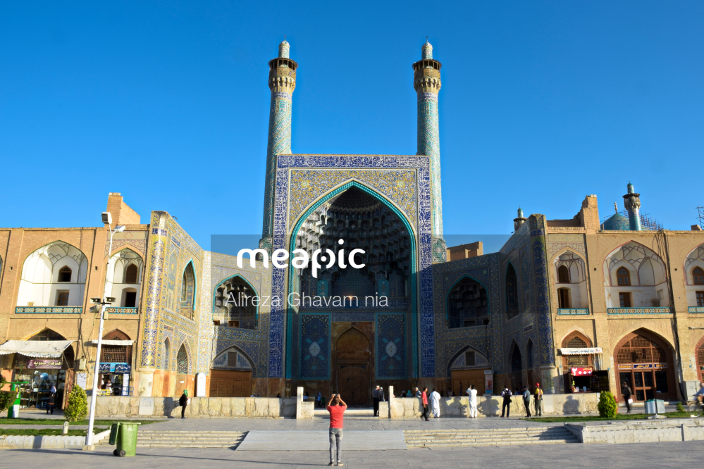 Shah Mosque Stock Photo · Meapic