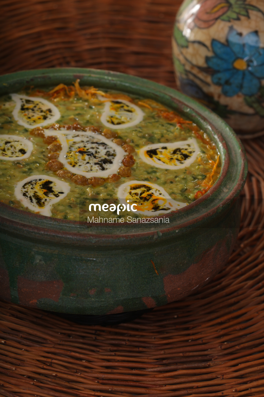 Bowl Of Food On A Table Stock Photo · Meapic