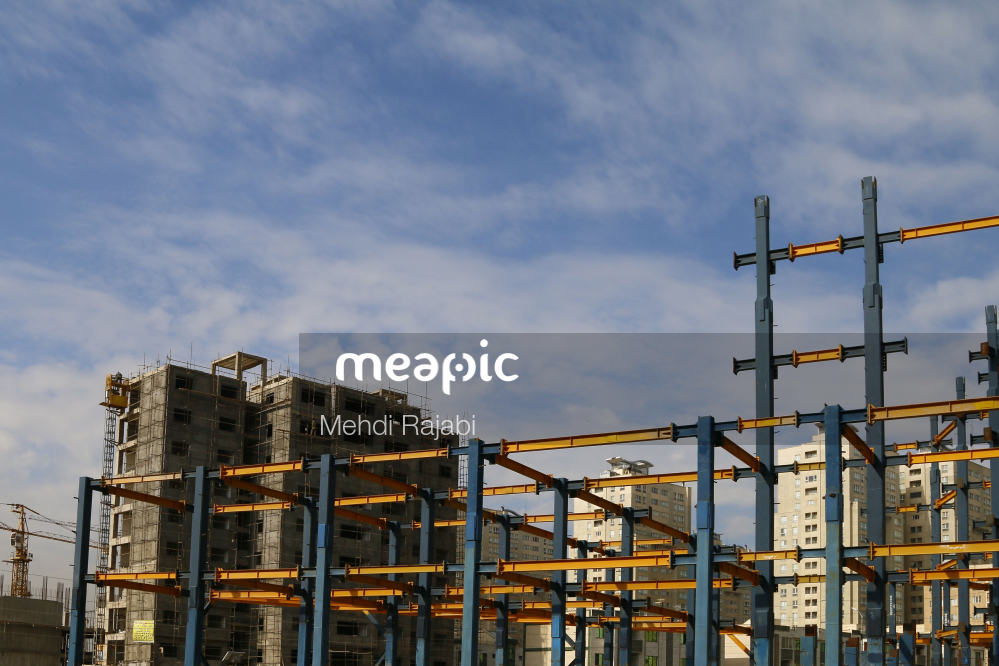 Construction Site Stock Photo · Meapic