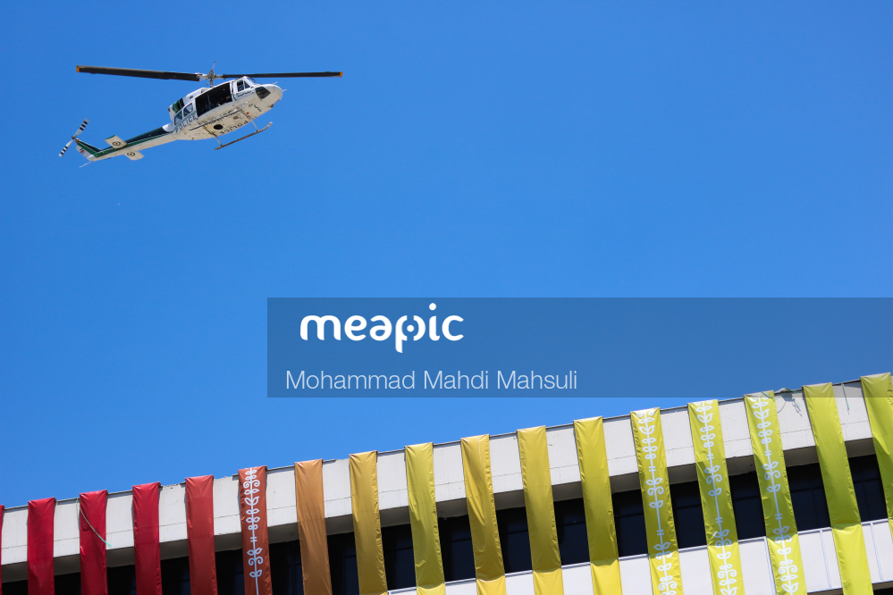 Large Airplane Flying High Up In The Air Stock Photo · Meapic