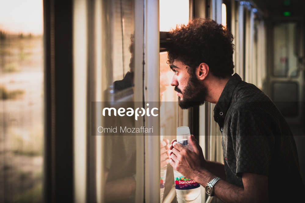 Man Standing In Front Of A Mirror Stock Photo · Meapic