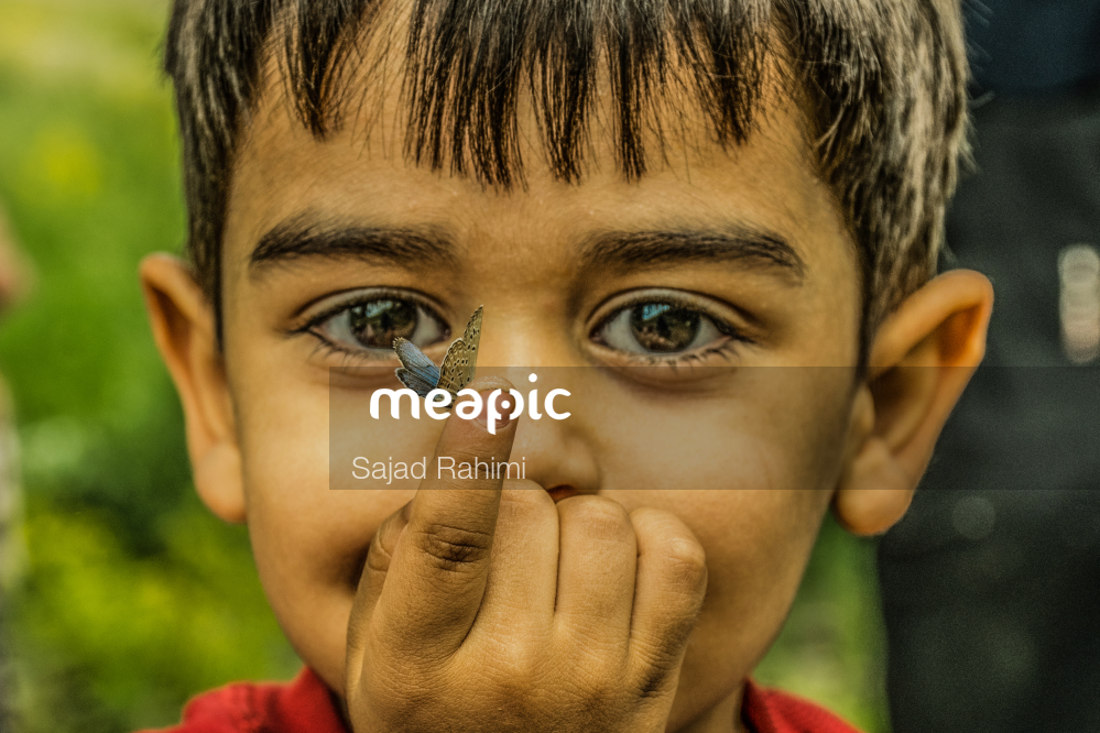 Close Up Of A Boy Stock Photo · Meapic