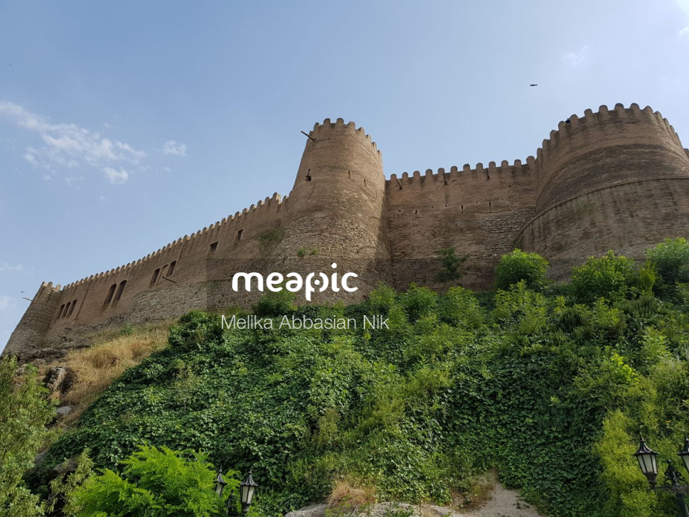 Castle On A Hill Stock Photo · Meapic