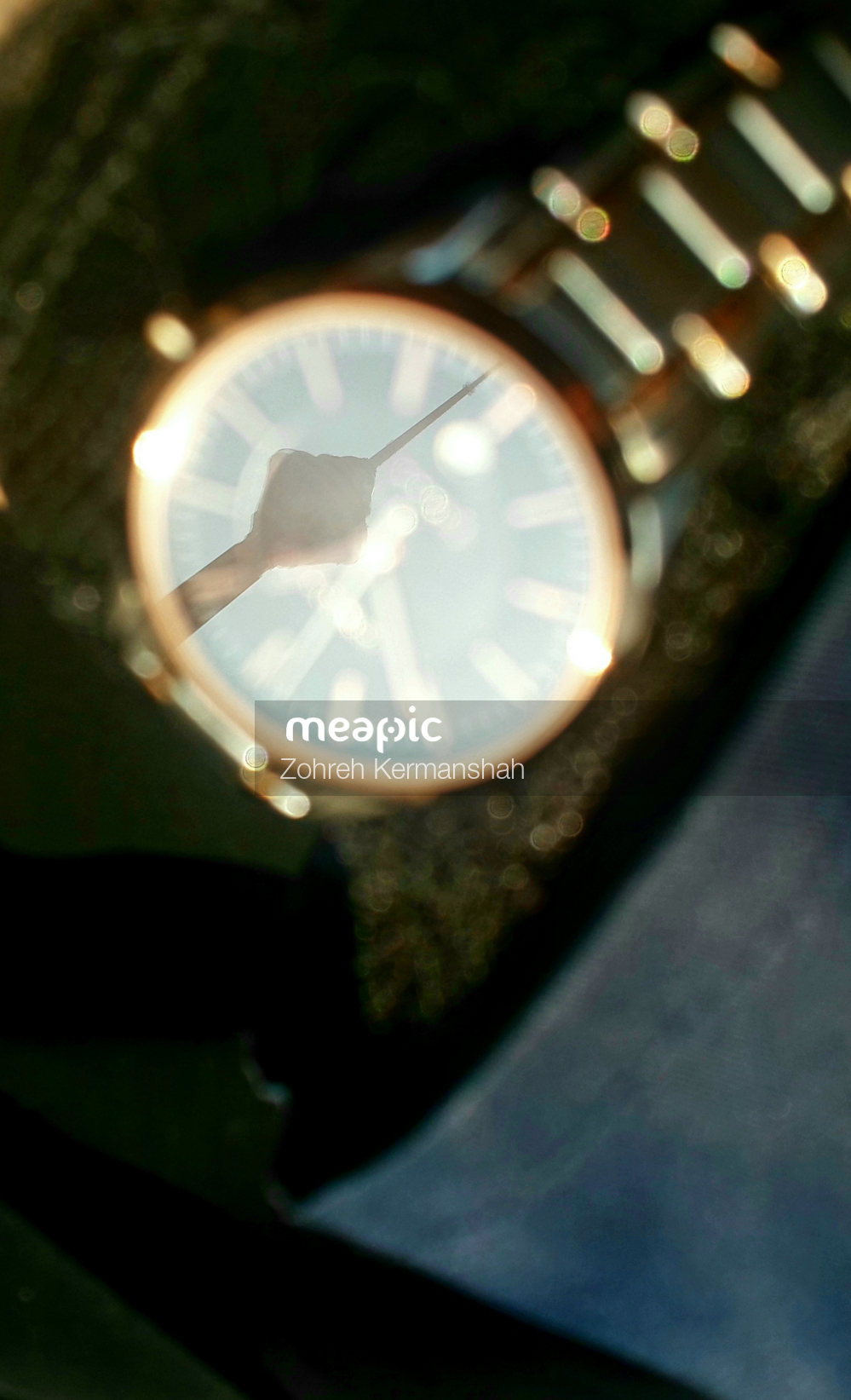Close Up Of A Watch Stock Photo · Meapic