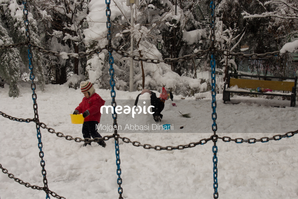 Chain With Snow On The Ground Stock Photo · Meapic
