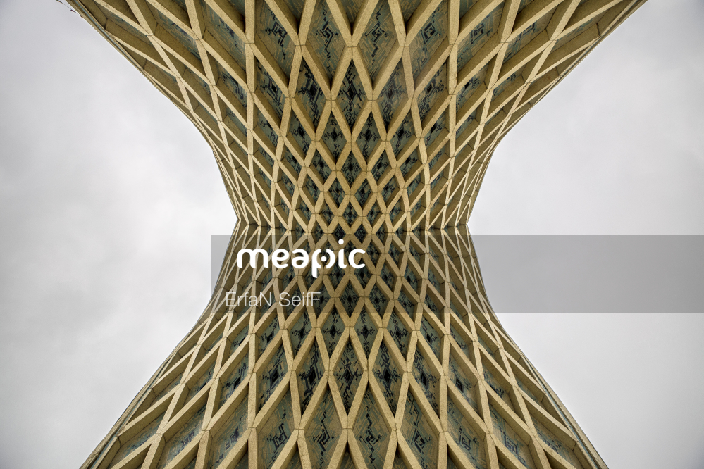 I Am Not Really Confident, But Large Tall Tower With A Clock Stock Photo · Meapic