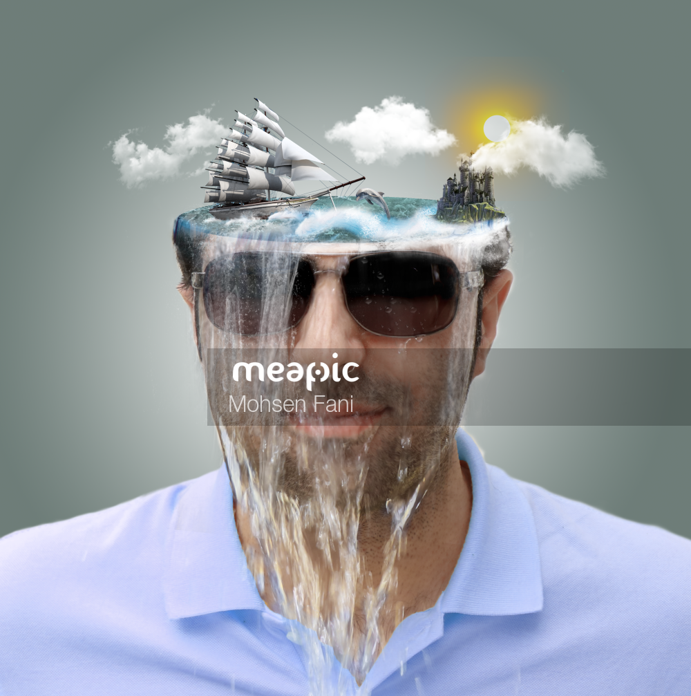 Man Wearing A Blue Hat Stock Photo · Meapic