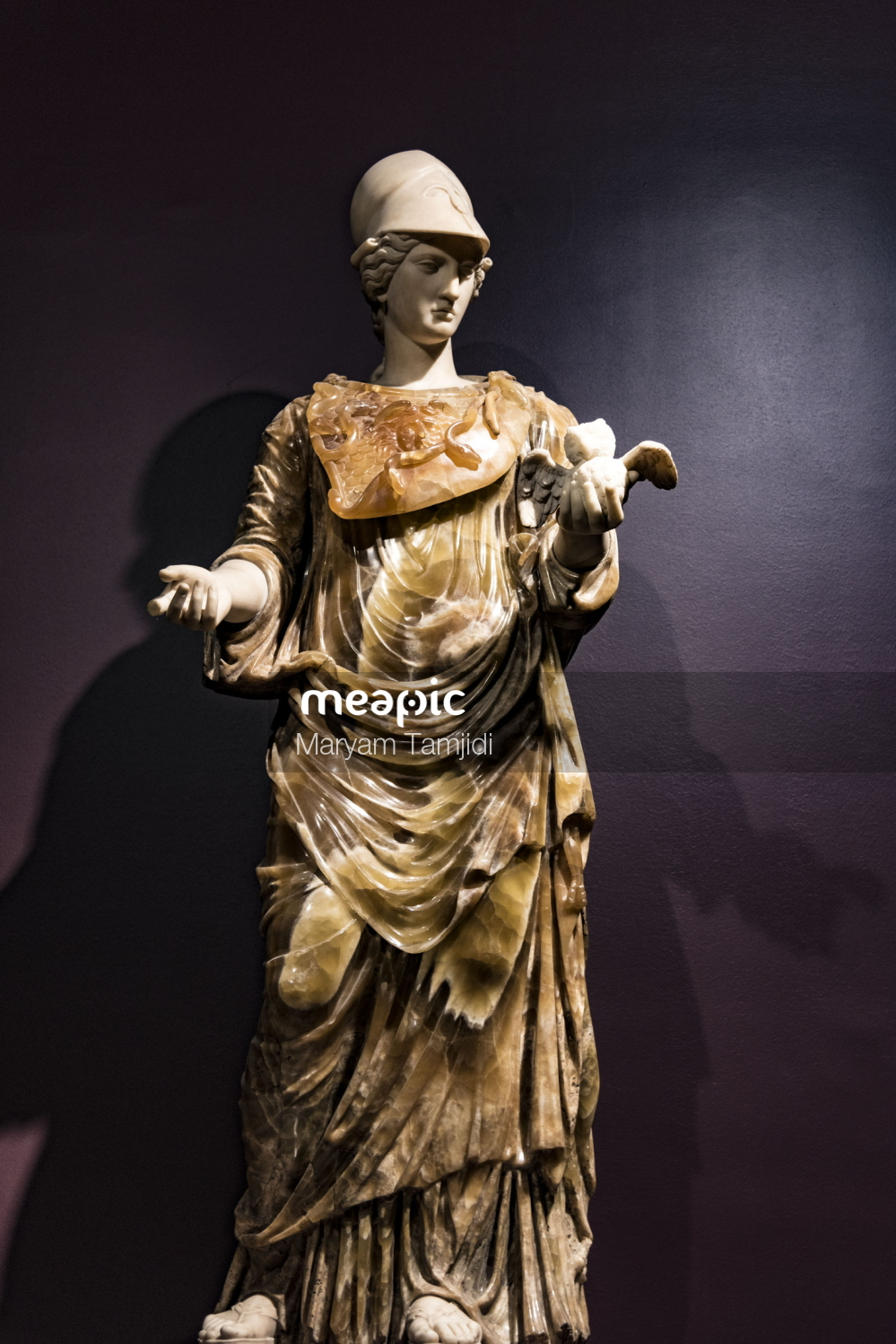 Sculpture Of A Person Stock Photo · Meapic