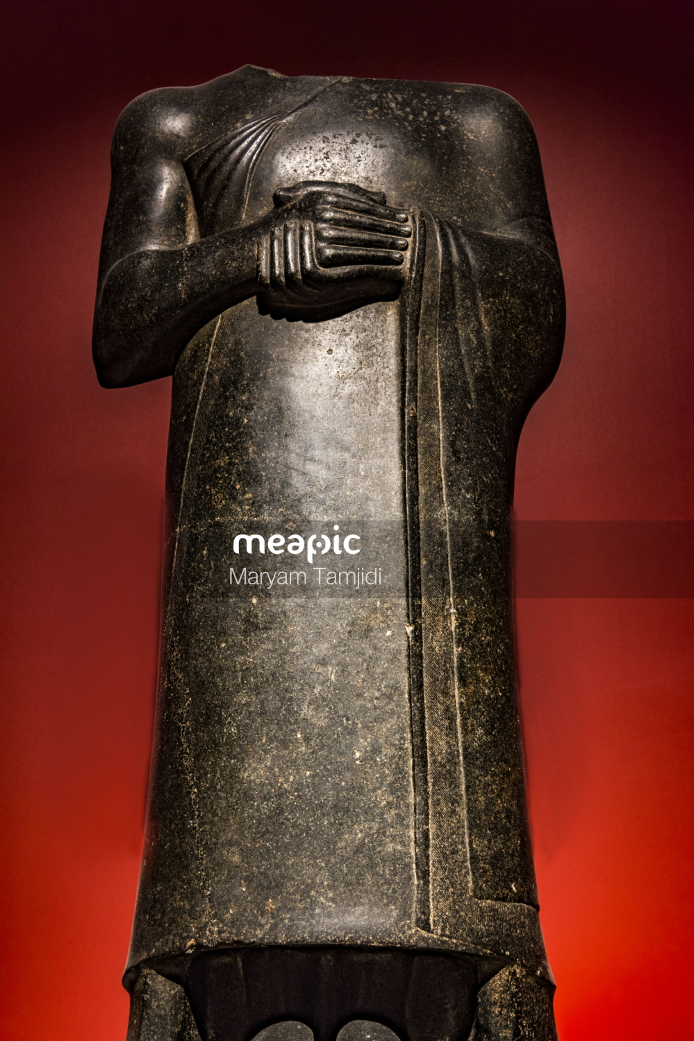 Close Up Of A Statue Stock Photo · Meapic