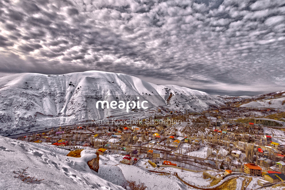 Group Of Snow Covered Ground Stock Photo · Meapic