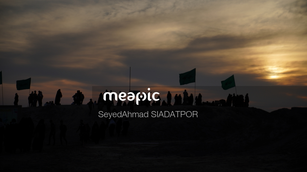 Group Of People In A Dark Cloudy Sky Stock Photo · Meapic