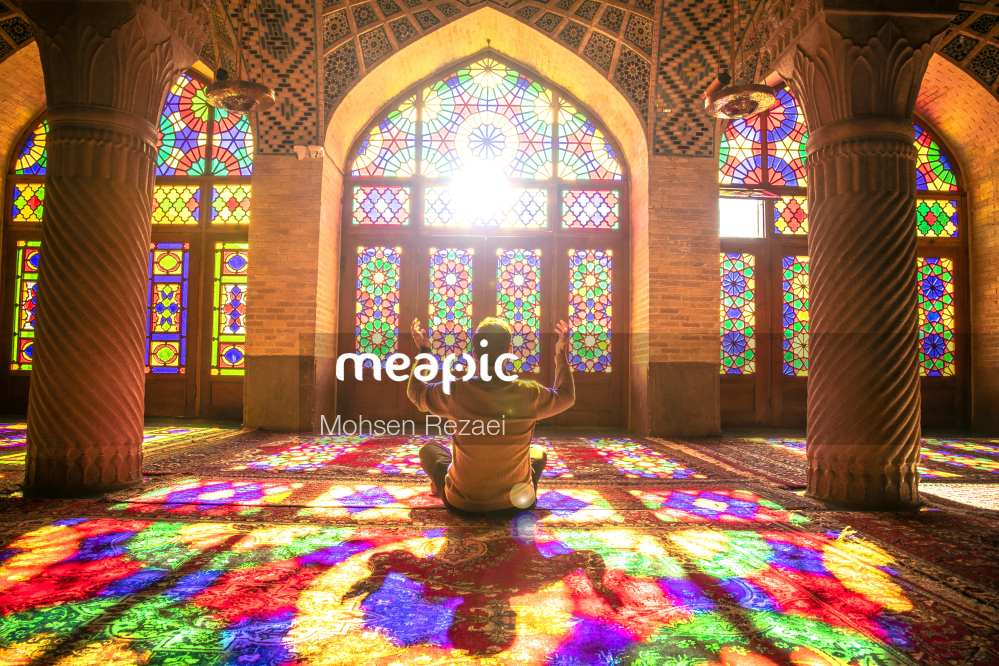 Colorful Rug Stock Photo · Meapic