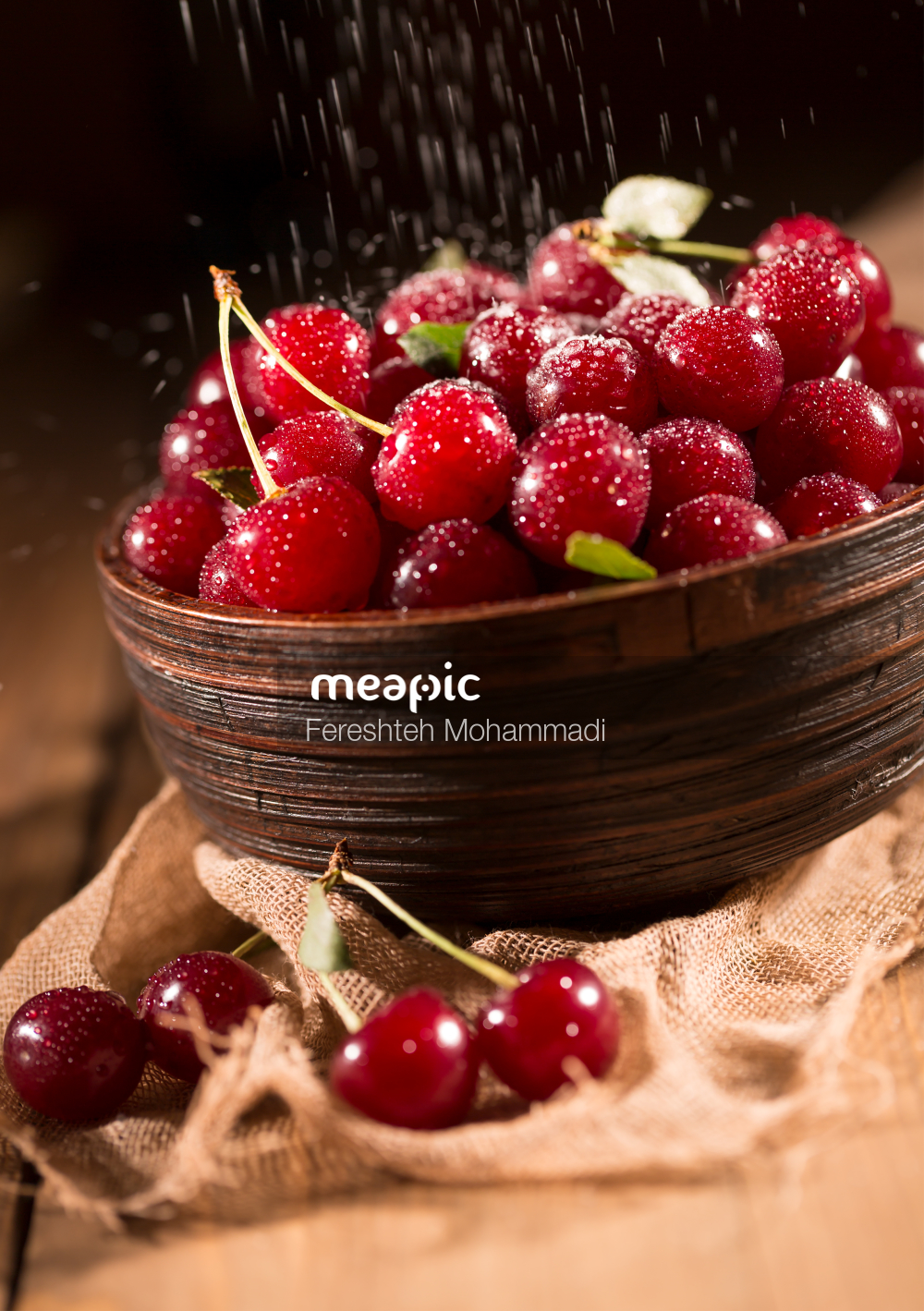 Bowl Of Fruit Stock Photo · Meapic