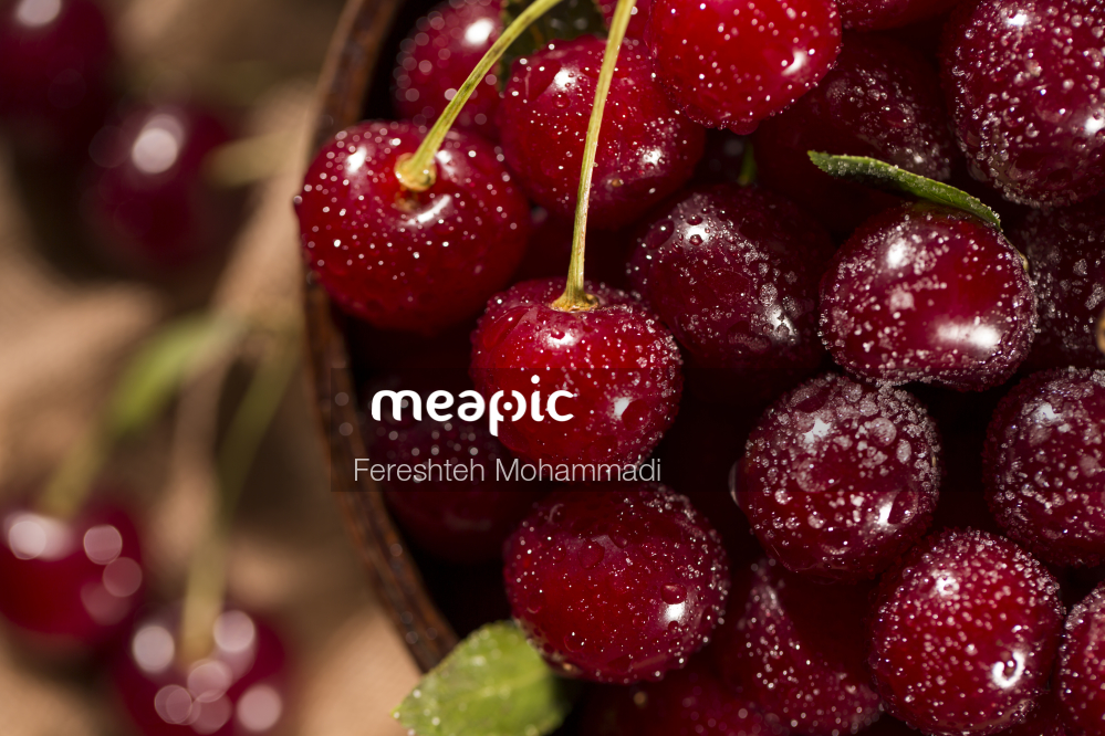 Close Up Of A Red Fruit Stock Photo · Meapic