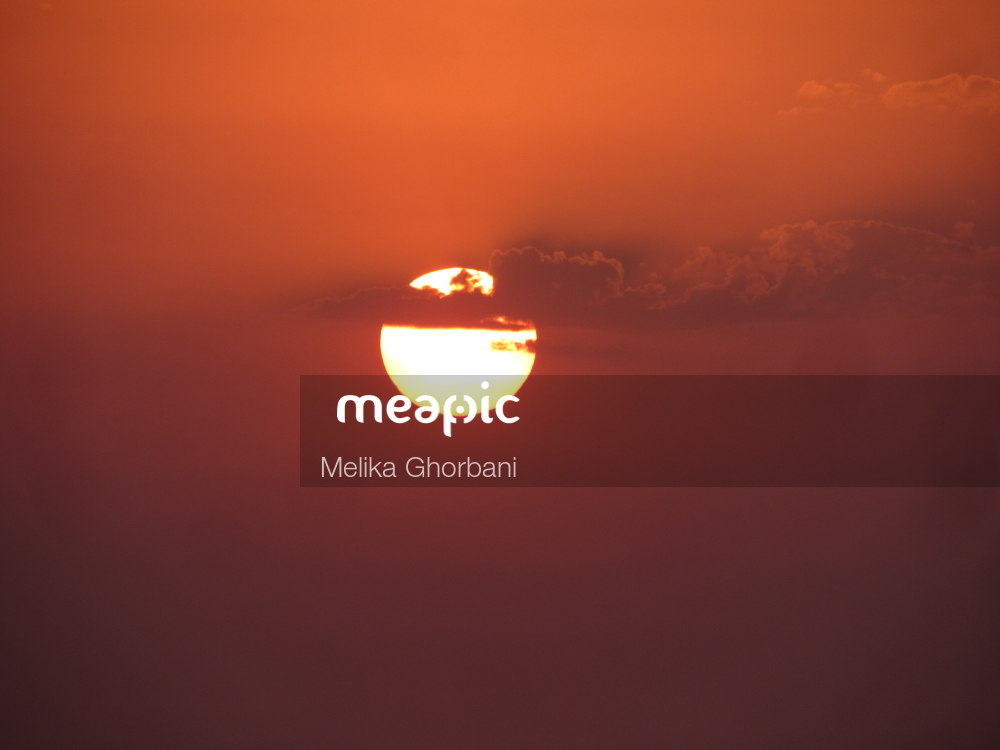 Sunset Over Some Water Stock Photo · Meapic