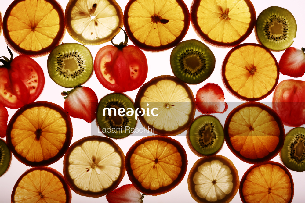 I Am Not Really Confident, But Sliced Apple On A Cutting Board Stock Photo · Meapic
