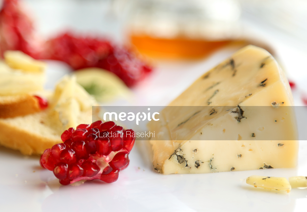 Piece Of Food On A Plate Stock Photo · Meapic