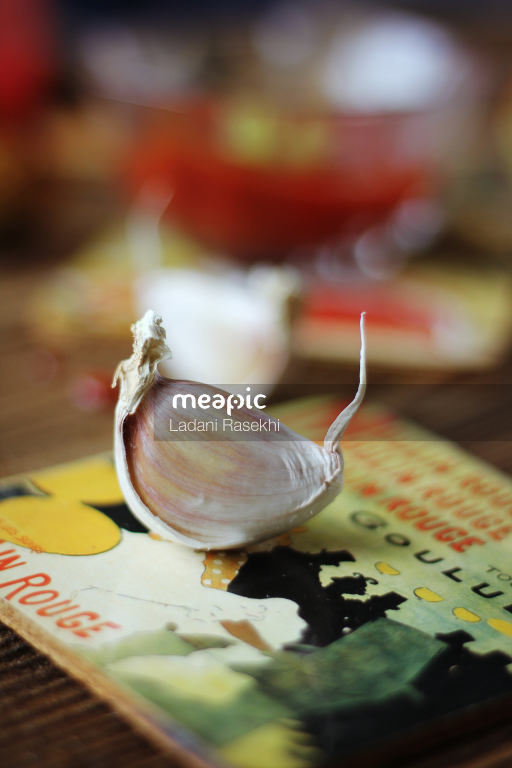 Close Up Of A Piece Of Cake Sitting On Top Of A Table Stock Photo · Meapic