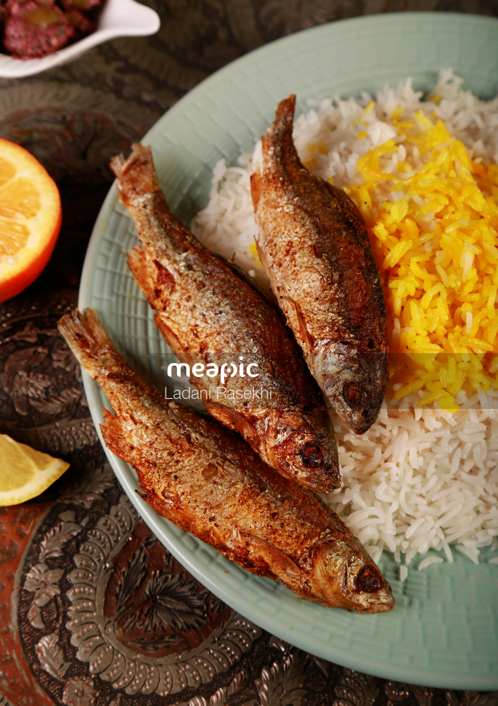 Plate Of Food Stock Photo · Meapic