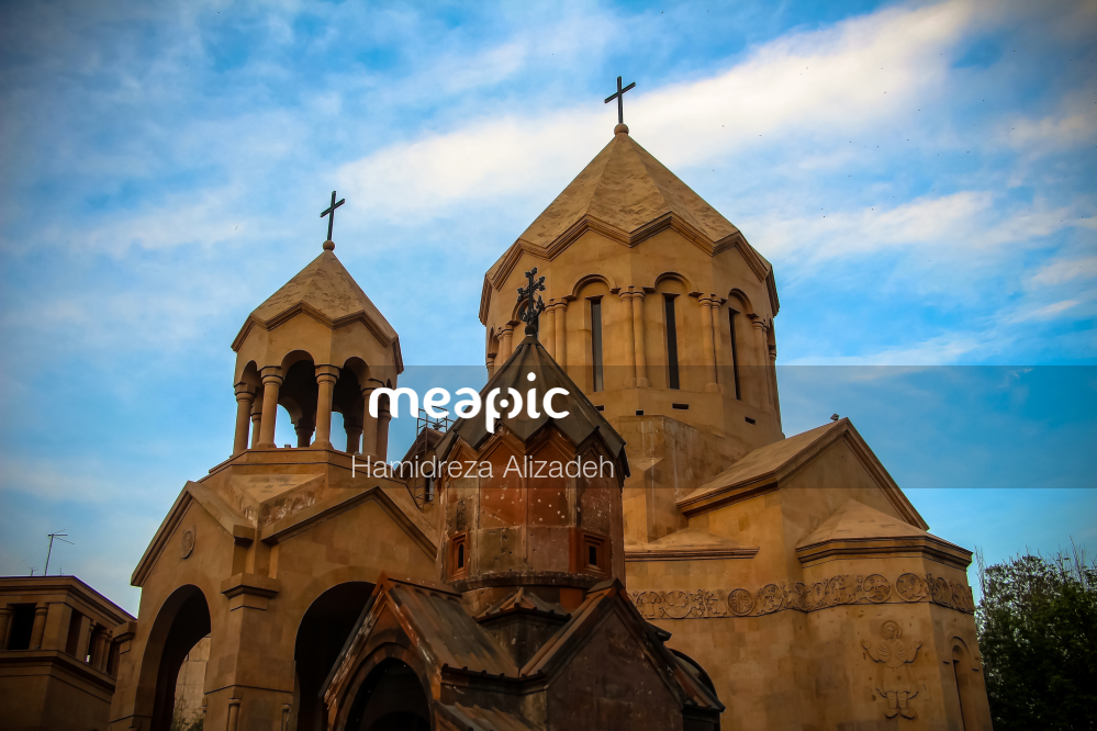 Close Up Of A Church Stock Photo · Meapic