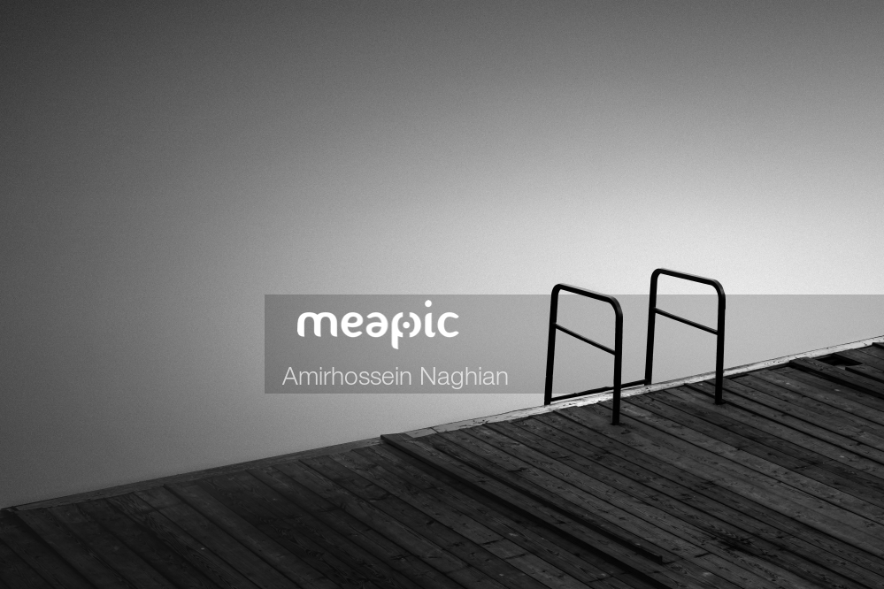 Wooden, Table, Pier Stock Photo · Meapic