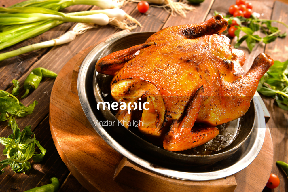 Close Up Of A Pot With Food In It Stock Photo · Meapic