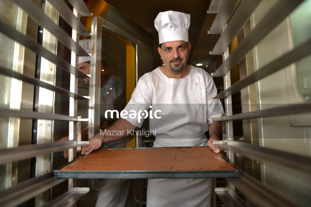 Man In A Kitchen Stock Photo · Meapic