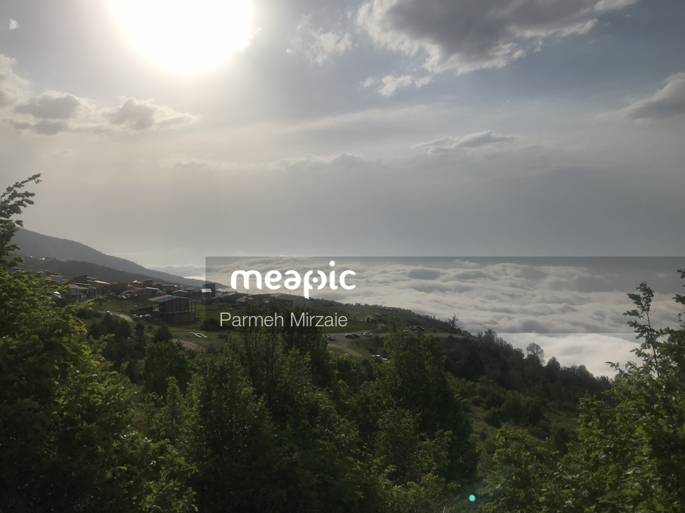 Group Of Clouds In The Forest Stock Photo · Meapic