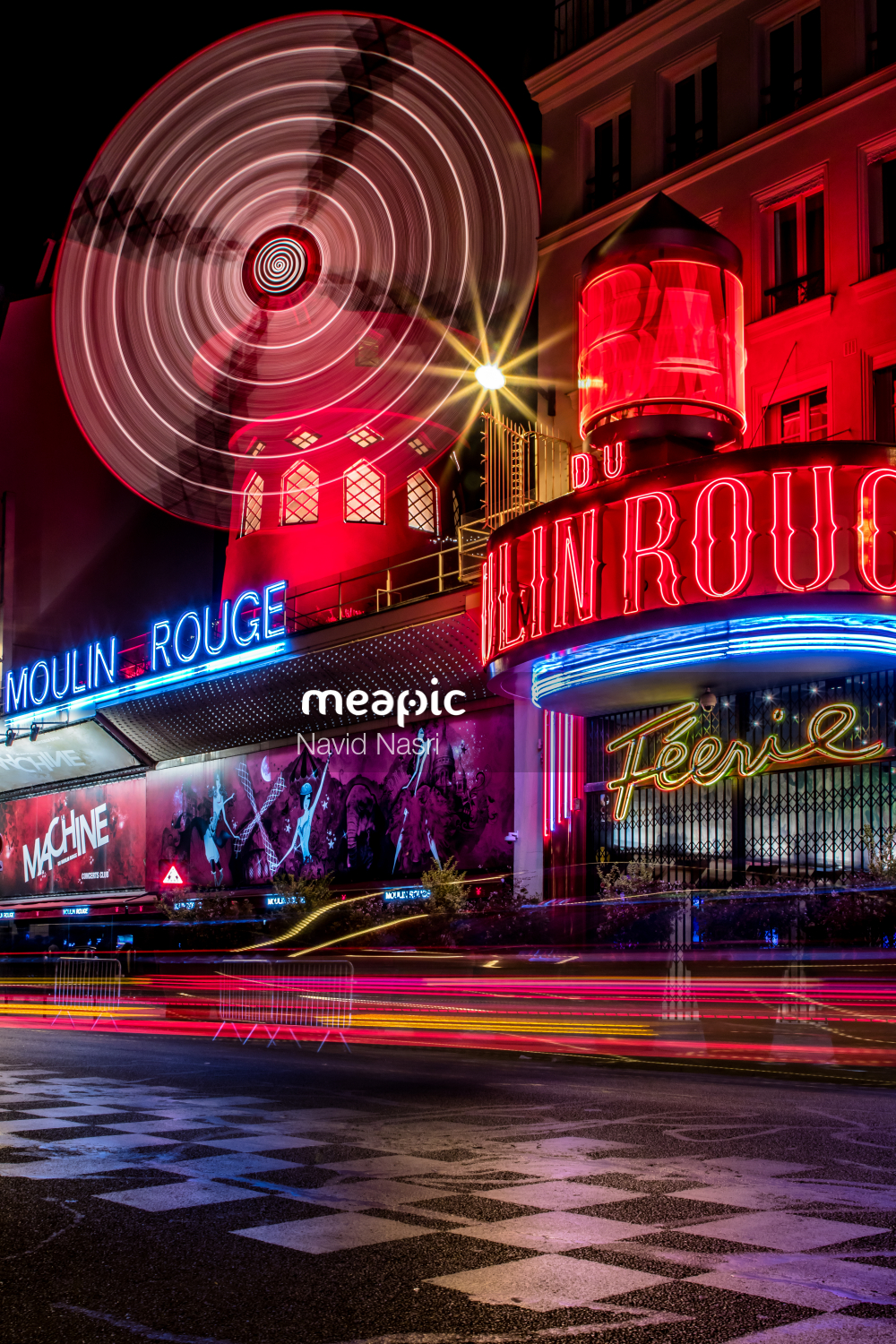 I Am Not Really Confident, But Red Train At Night Stock Photo · Meapic