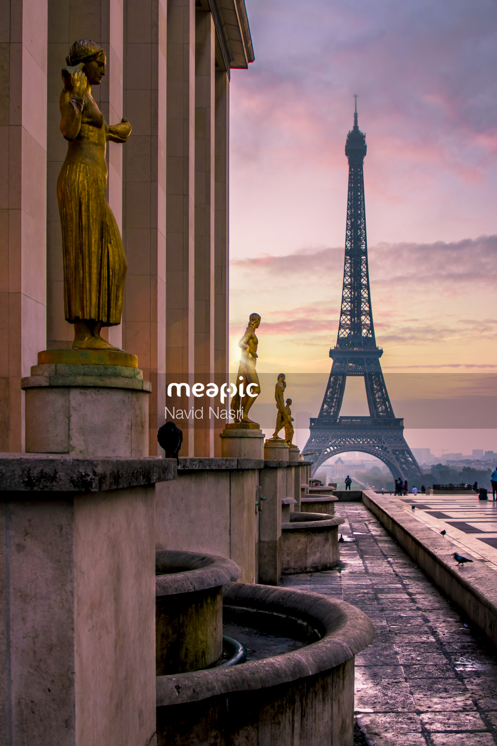 I Am Not Really Confident, But Clock Tower On Top Of A Wooden Pole Stock Photo · Meapic
