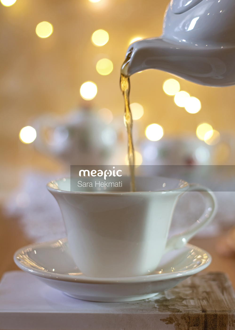 Tea Time Stock Photo · Meapic