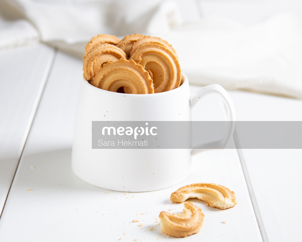 Cup Of Coffee And A Doughnut Stock Photo · Meapic