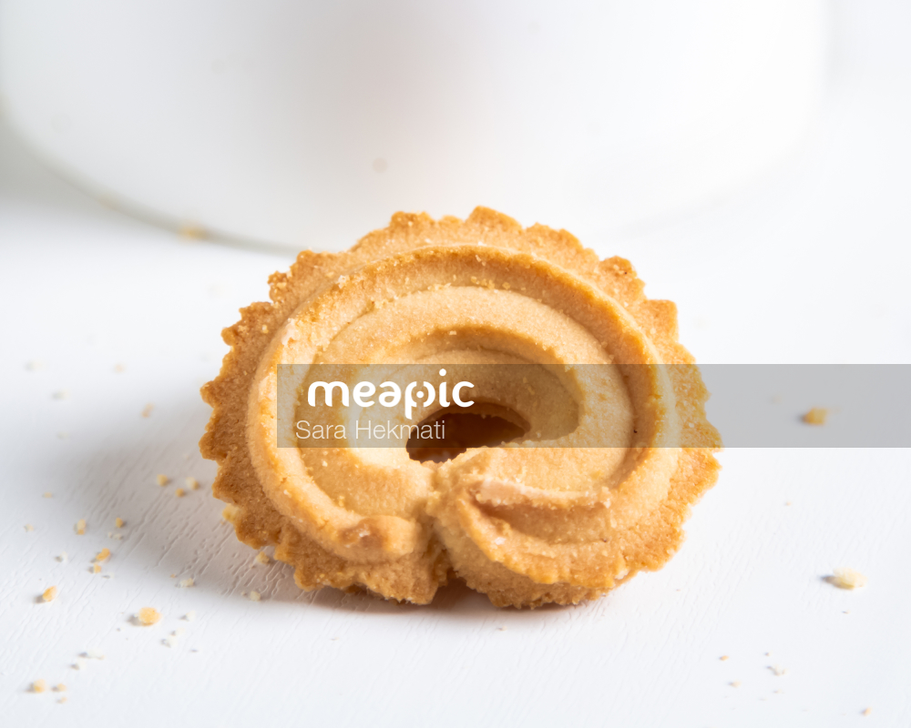Piece Of Cake On A Plate Stock Photo · Meapic
