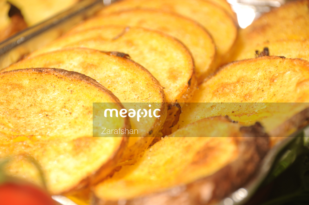 Close Up Of Food Stock Photo · Meapic
