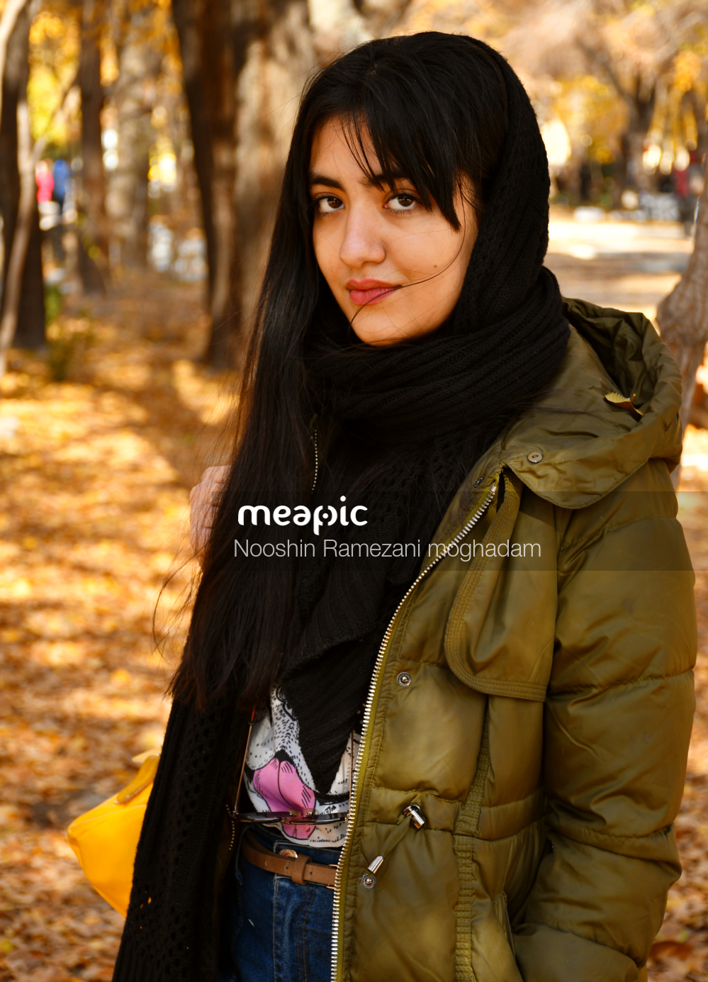 Portrait Of Fall Stock Photo · Meapic