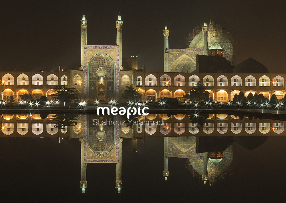 The Shah Mosque Stock Photo · Meapic